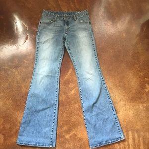 VTG Levi Flare Leg Jeans Sz 31 Long
